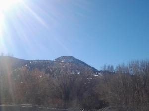 clearer blue sky