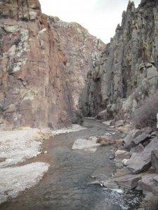 Entrance to alamosa canyon